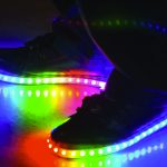 histoire chaussures led
