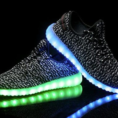 À Vos LedLumineusesFaites Chaussures Clignoter Pieds y76Yfbg