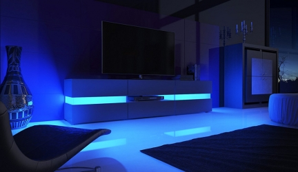 Meuble TV LED